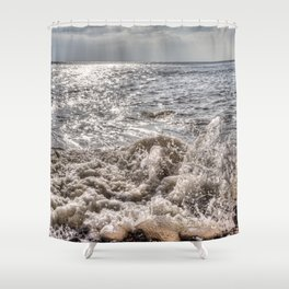 Breaking Waves Shower Curtain