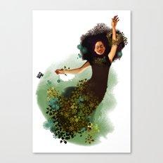 Flying Mina Canvas Print