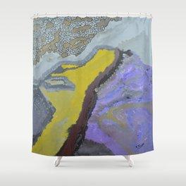 Cellular Lull Shower Curtain