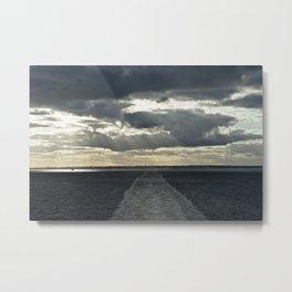 Trace ~ Baltic Sea Metal Print
