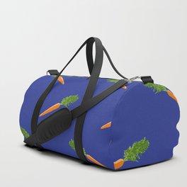 a basket full of carrots Duffle Bag