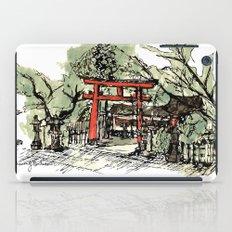Yoshida Jinja iPad Case