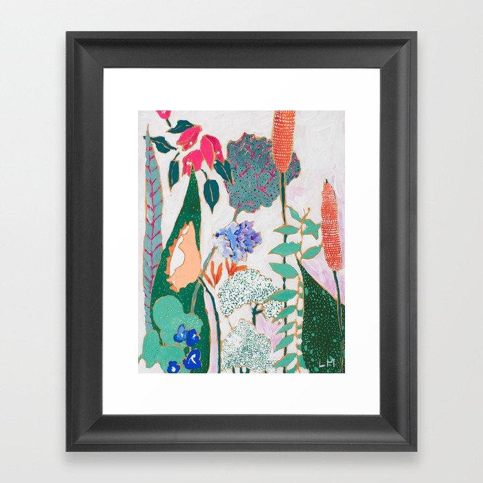 Speckled Garden Gerahmter Kunstdruck