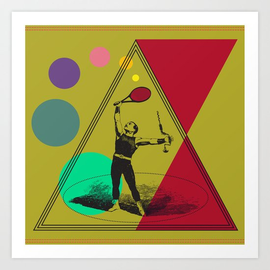 my uncle : what a complete man... Art Print