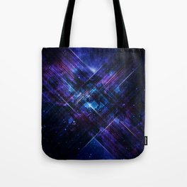 Cosmic Interference Tote Bag