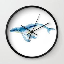 humpback buddy Wall Clock
