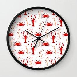 Crabs & Lobsters Wall Clock