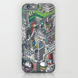 The American Football Media Factory iPhone Case