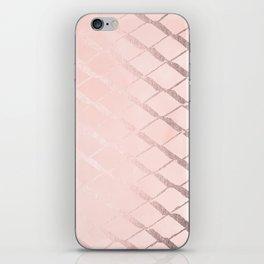 Rosegold Ribbon iPhone Skin