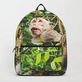 Cute Jungle Monkey Backpack