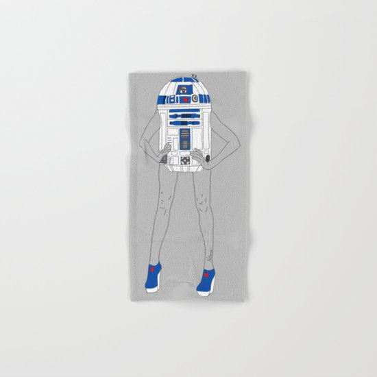 Girl R2-D2 Hand & Bath Towel