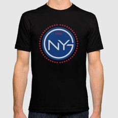 NYGFC (Italian) Black Mens Fitted Tee LARGE