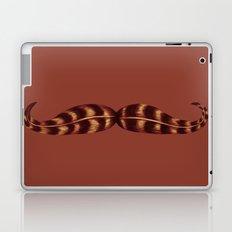 Feather Mustache Laptop & iPad Skin
