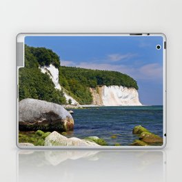 Chalk coast, Ruegen in Germany Laptop & iPad Skin