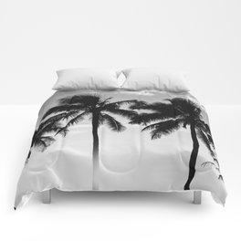 Hawaiian Palms II Comforters