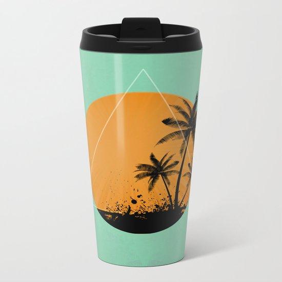 Summer time Metal Travel Mug