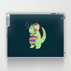 Green Dino Laptop & iPad Skin