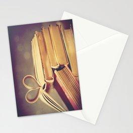 Vintage Book Love Stationery Cards