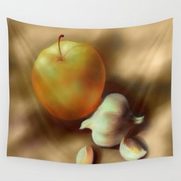 applegarlic Wall Tapestry