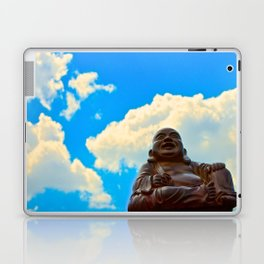 Happy Buddha on a Beautiful Day Laptop & iPad Skin