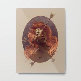 Pierce Metal Print