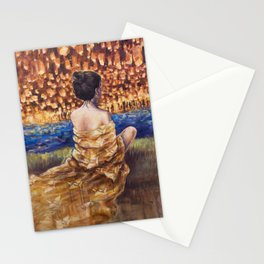 Lights of the Night Stationery Cards