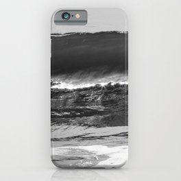 coasting ocean waves iPhone Case
