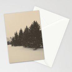 snow pine  Stationery Cards
