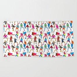 Dance, Dance, Dance! Beach Towel