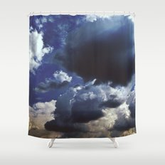 Clouds above Versailles Shower Curtain