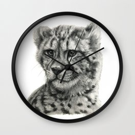 Young Guepard g094 Wall Clock