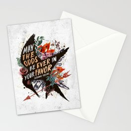 May the odds Stationery Cards