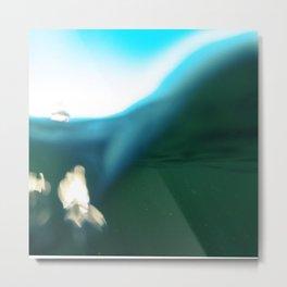 water level Metal Print