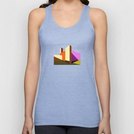 Casa Luis Barragán - Modern architecture abstracts  Unisex Tank Top