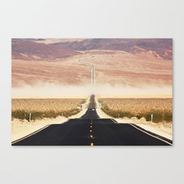 Serine Road Canvas Print