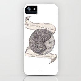 The Secret Moon  iPhone Case