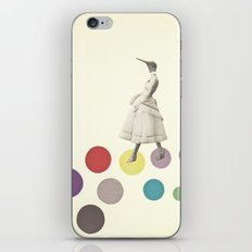 Bird Lady iPhone Skin