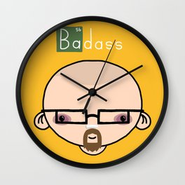 Breaking Badass Wall Clock