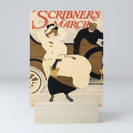 scribners for march. 1907  Affiche Mini Art Print
