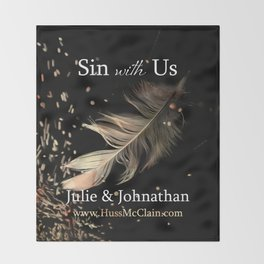 Sin With Us Throw Blanket