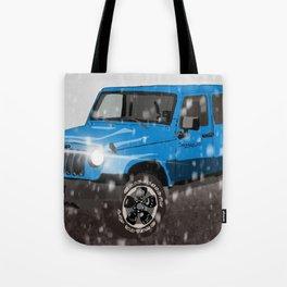 Jeep Wrangler Tote Bag