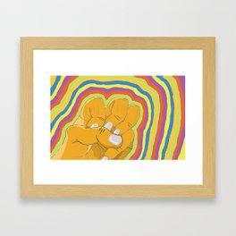 Hand #2 Framed Art Print