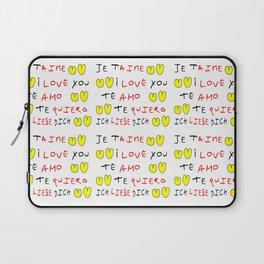 Je t'aime 7-i love you,je t'aime,te amo,te quiero,ich liebe dich,love,romantism,romantic,heart,cute Laptop Sleeve