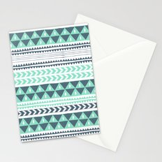 Winter Stripe Stationery Cards