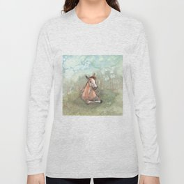 Resting Pony Long Sleeve T-shirt