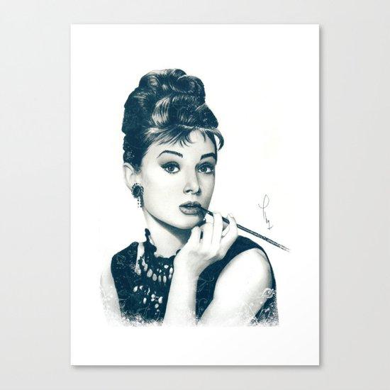 My Hepburn Canvas Print