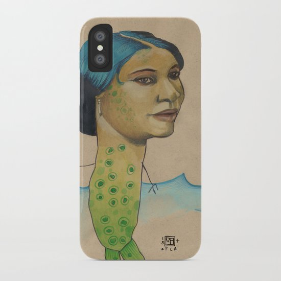 LONELY MERMAID iPhone Case