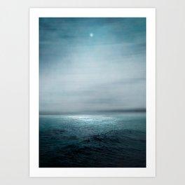 Sea Under Moonlight Kunstdrucke