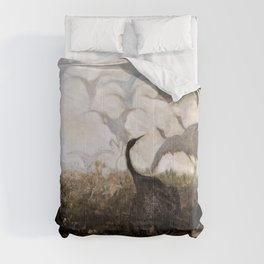 Jozef Chelmonski - Cranes - Digital Remastered Edition Comforters