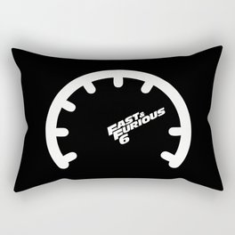 Lab No. 4 - The Fast and the Furious Hollywood Movies Minimalist Quotes Poster Rectangular Pillow